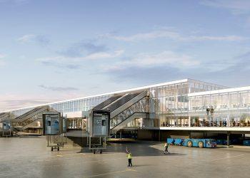 CAJA - bouw van de A-Pier Schiphol