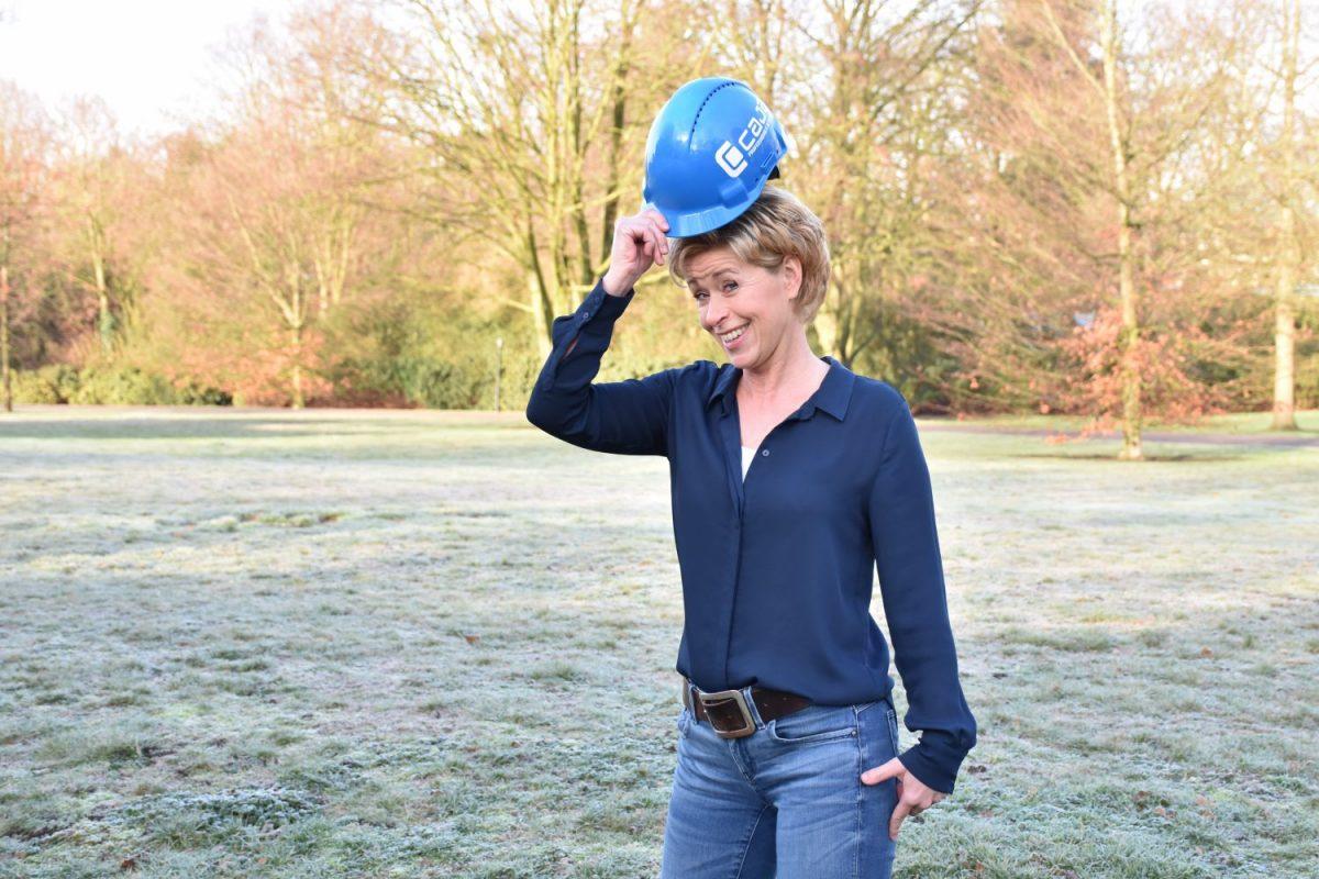 Vandaag zet Esther Barten de bouwhelm op