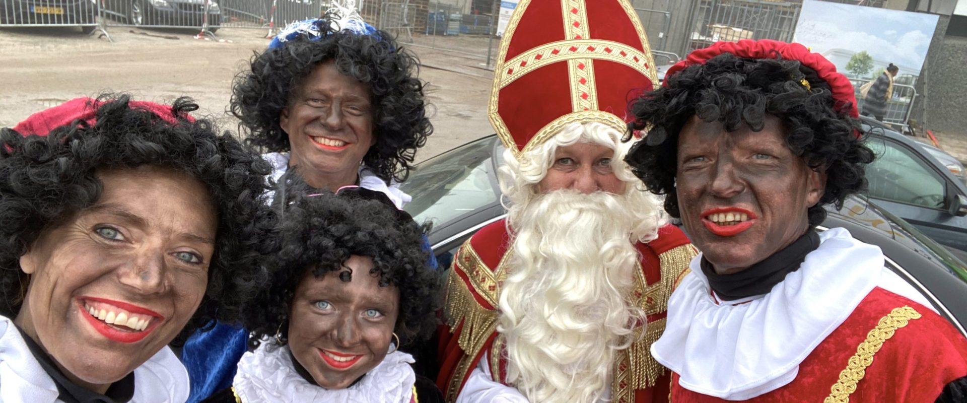 Sinterklaas en zijn CAJA-pietjes op pad!